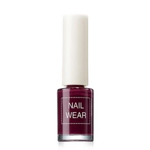 Лак для ногтей Nail Wear 14 Deep Purple, 7 мл