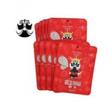 Тканевая маска для лица Berrisom Peking Opera Mask Series King с протеинами жемчуга и арбутином, 25 мл