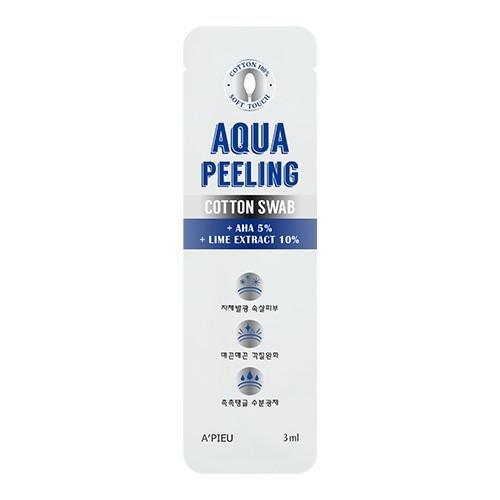 Пилинг для лица A'Pieu Aqua Peeling Cotton Swab Mild с АНА-кислотами, 3 мл