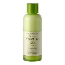 Освежающая эмульсия для лица Nature Republic Fresh Green Tea 70 Emulsion с экстрактом зеленого чая, 180 мл