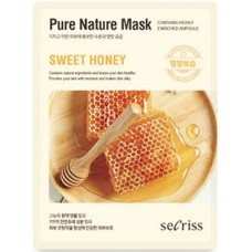 Тканевая маска для лица Anskin Secriss Pure Nature Mask Pack Sweet Honey, 25 мл