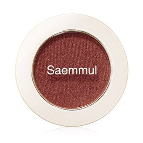Тени для век мерцающие The Saem Saemmul Single Shadow (Shimmer) BR04, 2 гр.