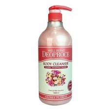 Гель для душа Deoproce Well-Being Deoproce Aroma Body Cleanser Floral цветочный, 1000 мл