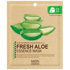 Тканевая маска для лица алое Mijin Fresh Aloe Essence Mask, 25 гр.