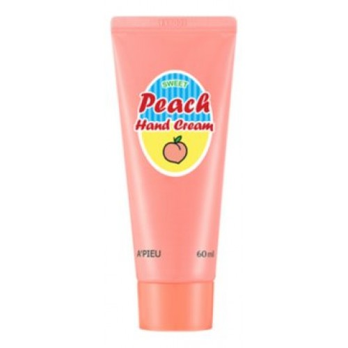 Крем для рук A'Pieu Peach Hand Cream с экстрактом персика, 60 мл