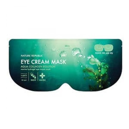 Гидрогелевая маска для глаз Nature Republic Aqua Collagen Solution Marine Hydrogel Eye Cream Mask, 8 г