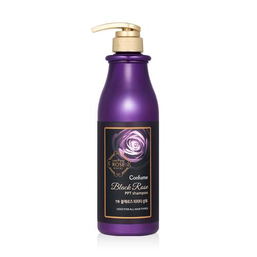 Шампунь для волос Welcos Confume Black Rose PPT Shampoo с черной розой, 750 мл