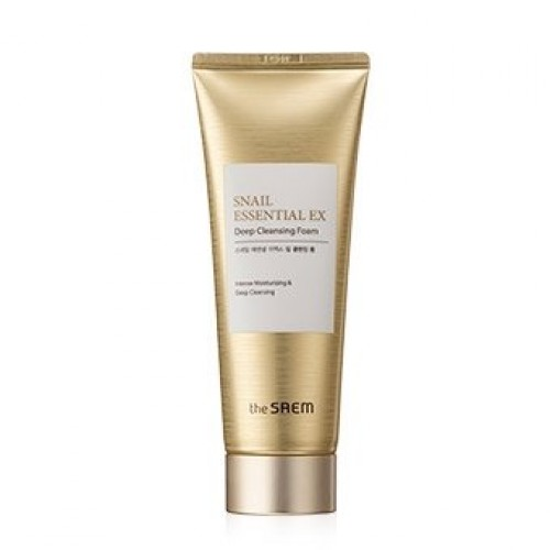 Пенка для умывания The Saem Snail Essential EX Wrinkle Solution Deep Cleansing Foam, 150 гр.