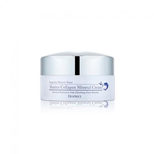 Крем для лица Deoproce Marine Collagen Mineral Cream с морским коллагеном, 100 гр.