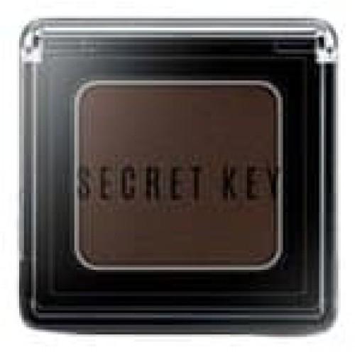 Тени для век моно Secret Key Fitting Forever Single Shadow Night Deep Brown, 3,8 гр.