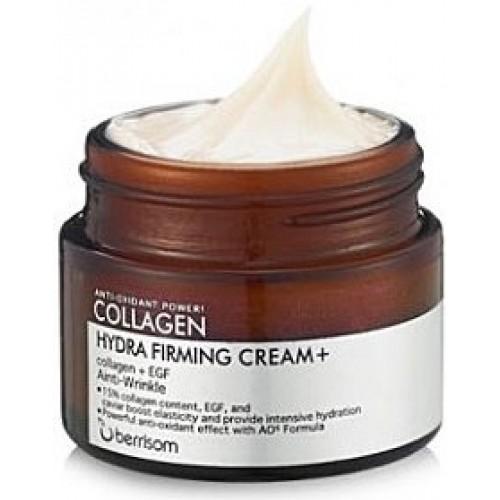 Укрепляющий крем для лица Berrisom Collagen Intensive Firming Cream с коллагеном, 50 гр.