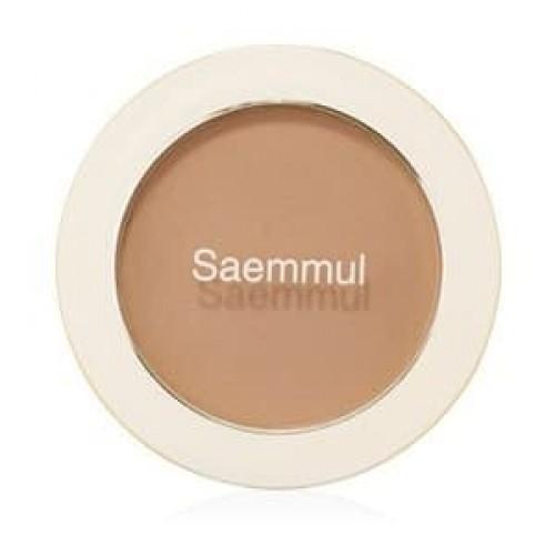 Румяна The Saem Saemmul Single Blusher BR02 Naked Brown (Shading), 5 гр.