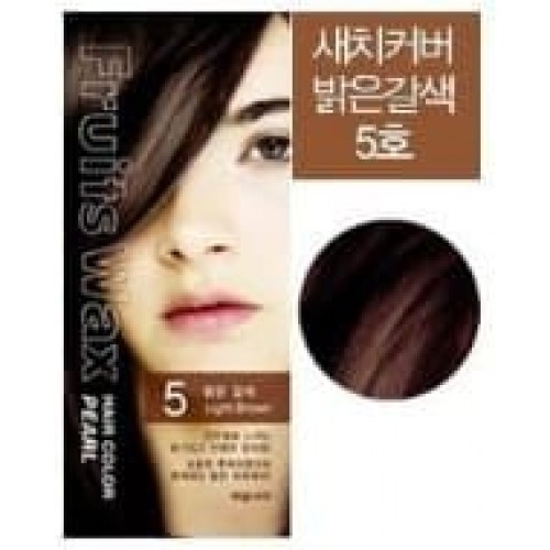 Краска для волос Fruits Wax Pearl Hair Color 05, 60 гр.
