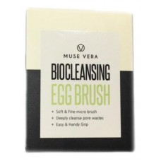 Очищающая щетка для лица Deoproce Muse Vera BioCleansing Egg Brush, 1 шт.