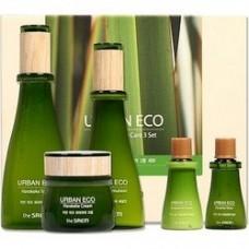 Подарочный набор The Saem Urban Eco Harakeke Skin Care 3 Set с экстрактом новозеландского льна