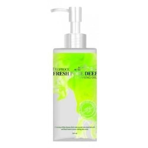 Очищающее масло для лица Deoproce Fresh Pore Deep Cleansing Oil, виноградное, 200 мл