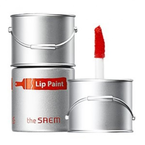 Тинт-помада для губ The Saem Lip Paint 03 Winsor Orange, 6,5 мл