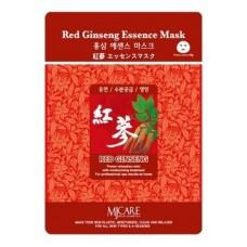 Тканевая маска для лица Mijin Red Ginseng Essence Mask с красным женьшенем, 23 гр.