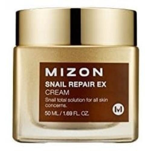 Крем для лица Mizon Snail Repair Ex Cream с муцином улитки, 50 мл