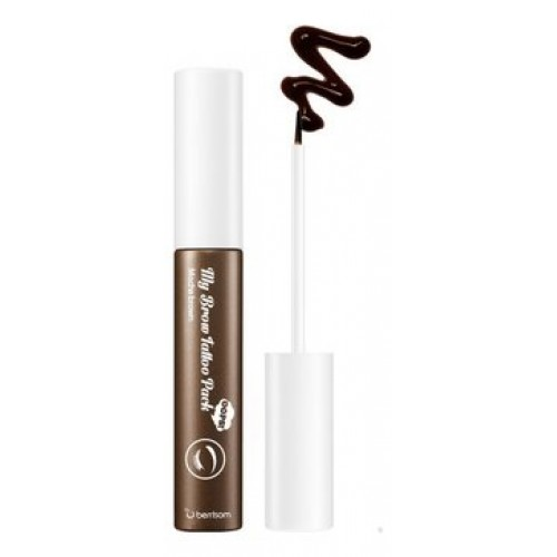 Краска-татуаж для бровей Berrisom Oops My Brow Tattoo Pack 01 Mocha Brown, 10 гр.