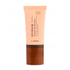 BB крем The Saem Eco Soul Porcelain Skin BB Cream Light Beige, 45 мл.