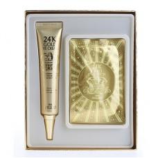 Крем для глаз Urban Dollkiss Agamemnon 24K Gold Eye Cream Special Kit с 24 каратным золотом, 40 мл