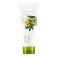 Пенка для умывания Nature Republic Real Nature Olive Foam Cleanser с экстрактом оливы, 150 мл