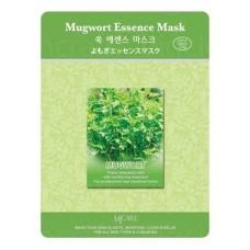Тканевая маска для лица полынь Mijin Mugwort Essence Mask, 23 гр.
