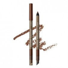Карандаш лайнер-тени для век The Saem Eco Soul Shadow & Liner BR03 Burnt Brown, 0,5 гр.