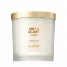 Аромасвеча The Saem Urban Delight Candle Darkwoody, 160 гр.