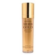 Эмульсия для лица омолаживающая estheroce herb gold whitening & wrinkle care emulsion, 135 мл.