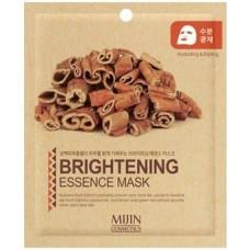 Тканевая маска для лица осветляющая Mijin Brightening Essence Mask, 25 гр.