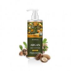 Шампунь для волос Deoproce Argan Silky Moisture Shampoo с аргановым маслом, 1000 мл