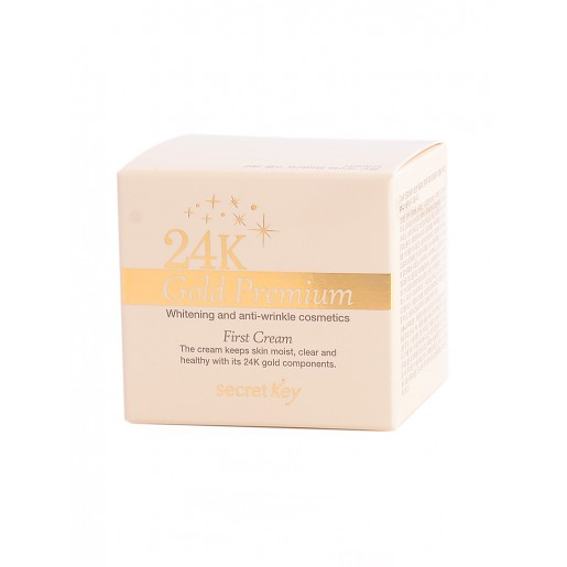 Питательный крем для лица Secret Key 24K Gold Premium First Cream, 50 мл