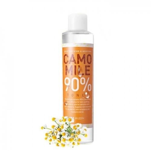 Тоник для лица Mizon Camomile 90% Toner с экстрактом ромашки, 210 мл