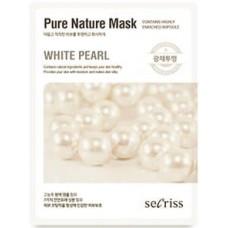 Тканевая маска для лица Anskin Secriss Pure Nature Mask Pack White Pearl, 25 мл