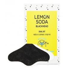 Двух-шаговая система очищения пор Etude House Lemon Soda Blackhead Dual Kit с экстрактом лимона и соды, 6 мл