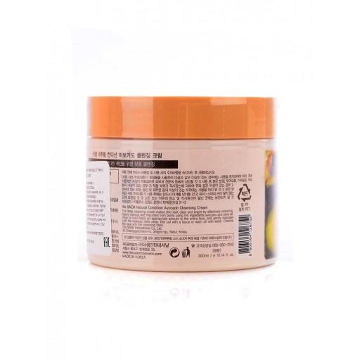 Крем очищающий The Saem Natural Condition Avocado Cleansing Cream, 300 мл