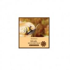 Мыло для умывания Deoproce Snail Recovery Soap с муцином улитки, 100 гр.