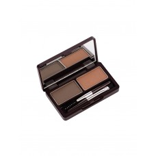 Пудра для бровей The Saem Eco Soul Eyebrow Kit Gray Brown, 2 шт. по 2,5 гр.