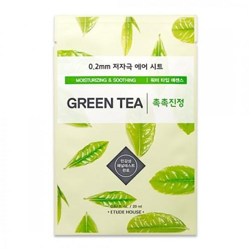 Тканевая маска для лица Etude House Therapy Air Mask Green Tea, 20 мл