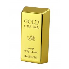 Мыло для умывания The Saem Gold Snail Bar, с муцином улитки и золотом, 100 гр.