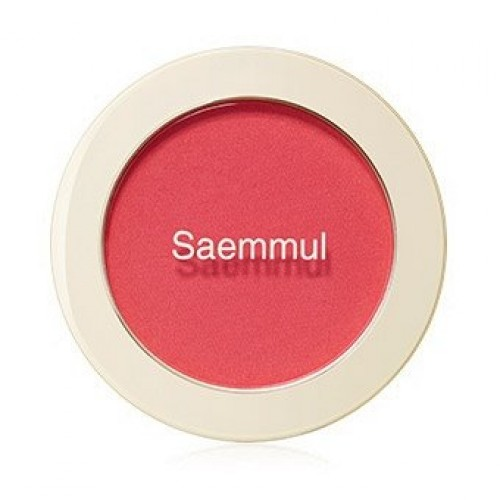 Румяна The Saem Saemmul Single Blusher PK01 Bubblegum Pink, 5 гр.