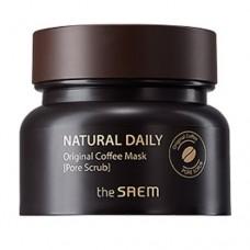 Маска для лица The Saem Natural Daily Original Coffee Mask кофейная, 100 гр.