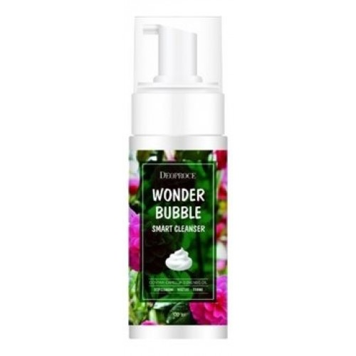 Пенка для умывания и снятия макияжа Deoproce Wonder Bubble Smart Cleanser, 150 мл