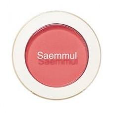 Тени для век матовые The Saem Saemmul Single Shadow (matte) PK07 Happy Ending Rose, 1,6 гр.
