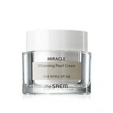 Дневной крем для лица осветляющий The Saem Miracle Whitening Pearl Cream, 50 мл