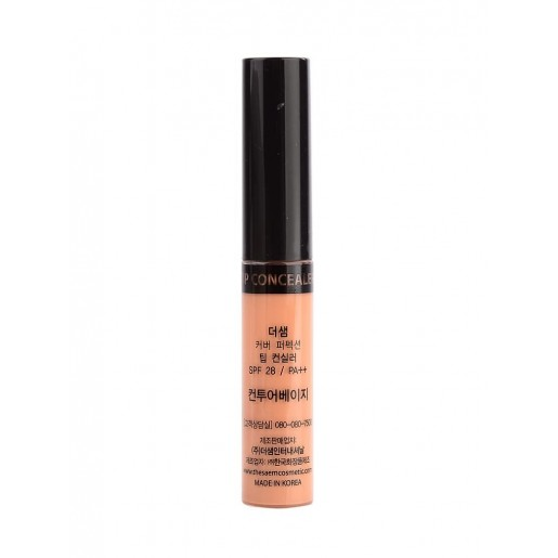 Консилер-контур бежевый The Saem Cover Perfection Tip Concealer Contour Beige, 6,5 гр.