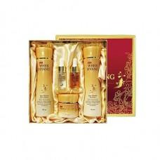 Антивозрастной подарочный набор Deoproce Whee Hyang Anti-Wrinkle & Whitening Skin Care 5 set, 150 мл + 150 мл + 50 мл + 10 мл + 10 мл
