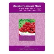 Тканевая маска для лица Mijin Raspberry Essence Mask с экстрактом малины, 23 гр.
